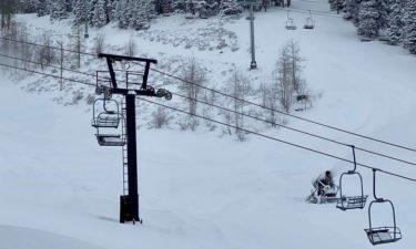 Pomerelle ski lift