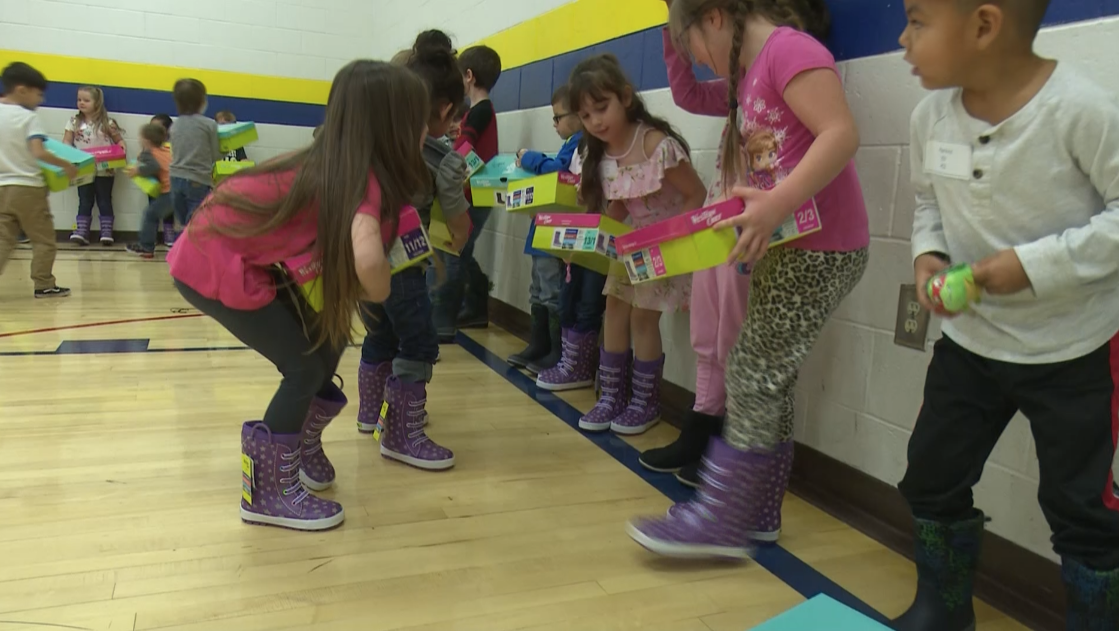 'Give Cold Feet a Boot' campaign provides 300 winter boots for students