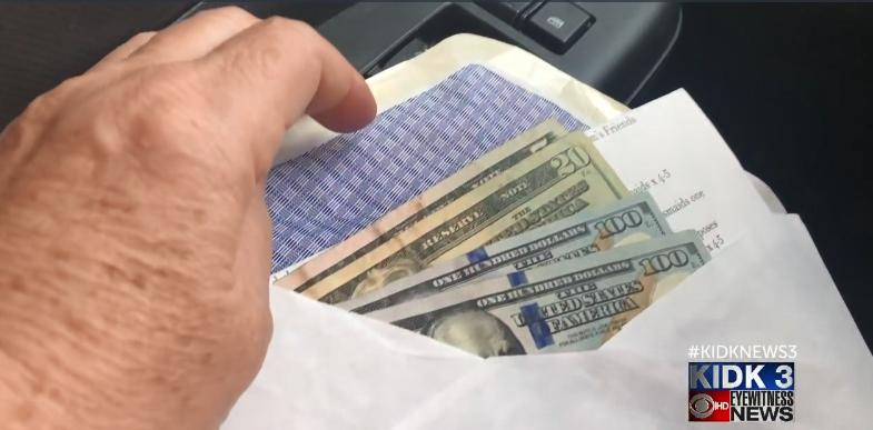 Cash returned