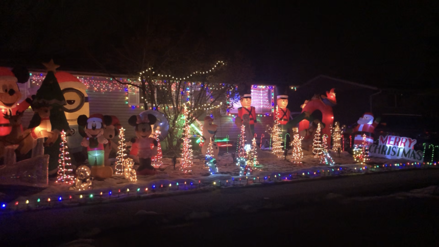 Christmas Lights Display Chubbuck