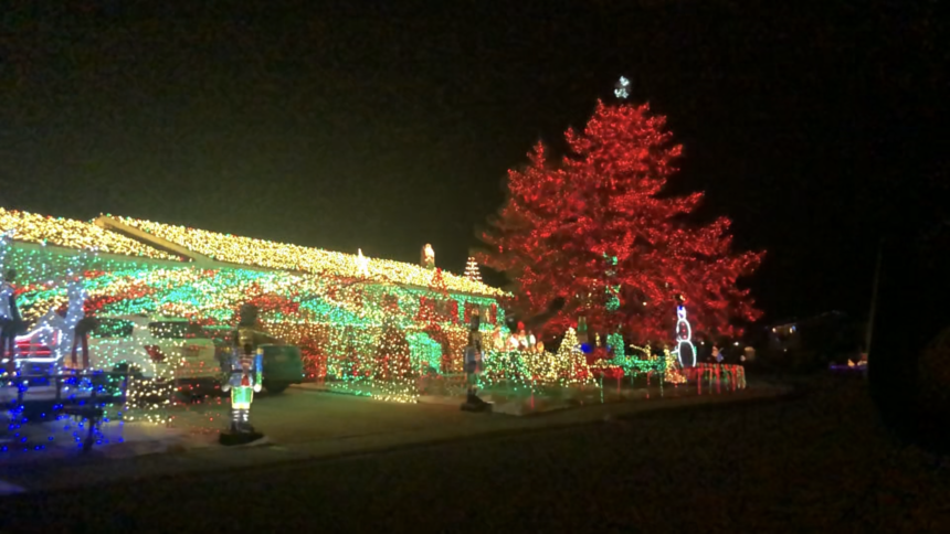 Best Christmas Decorated Houses 2020 In Pocatello Idaho Brilliant Christmas lights in Chubbuck   Local News 8