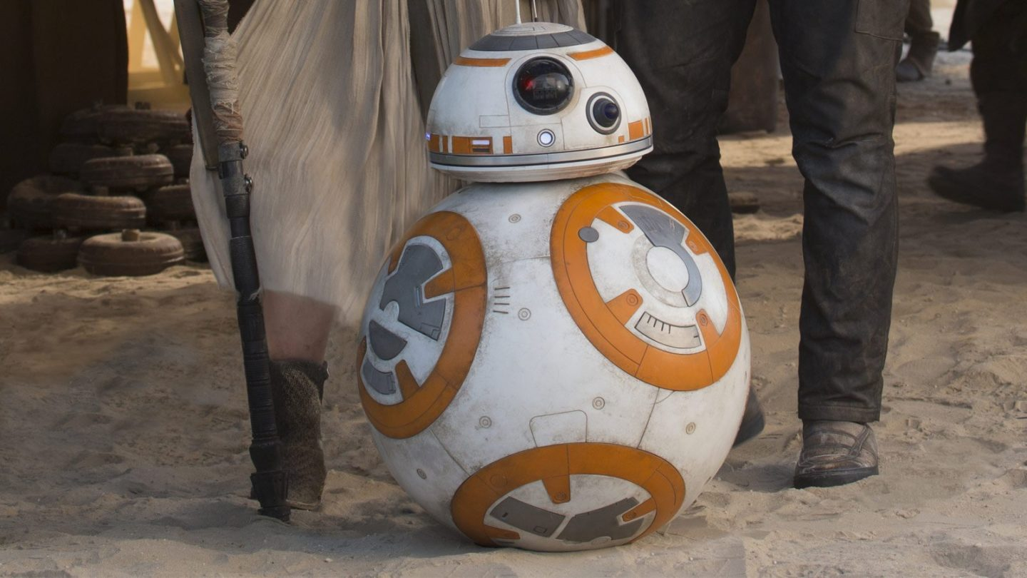 In November 2014, a little orange and white ball named BB-8 rolled across the screen in the first