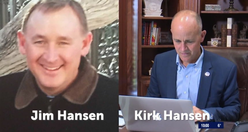 Jim Hansen and Kirk Hansen