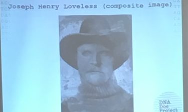Photo of Joseph Henry Loveless whose body was identified through DNA research.