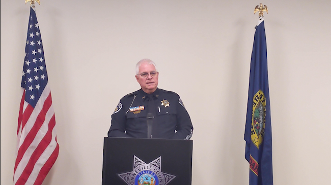 Sheriff Paul J. Wilde announces his retirement after 43 years of services