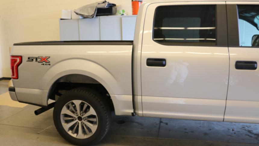Alex truck - passenger side