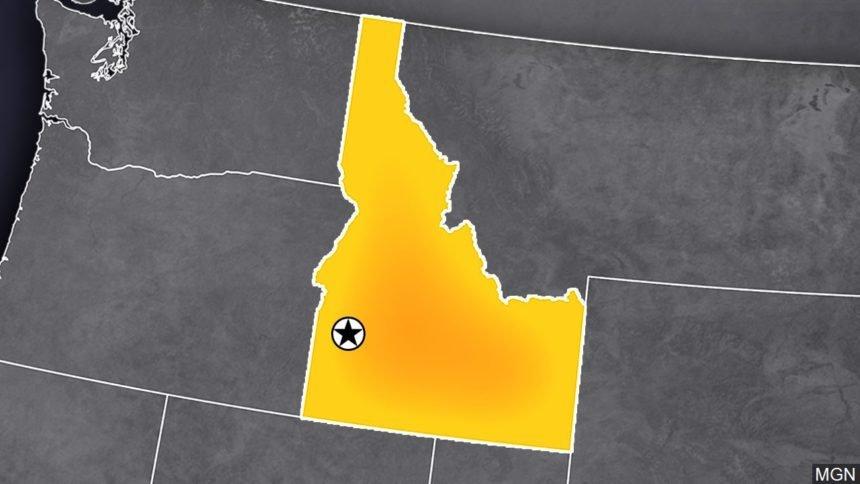 Idaho map logo_098764