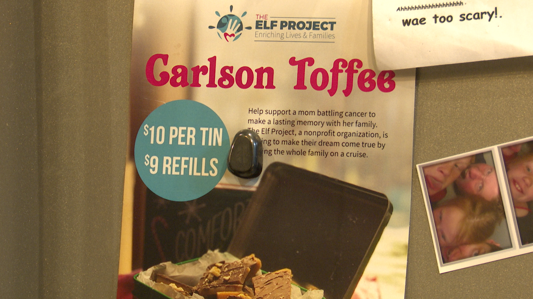 Toffee to fund a trip