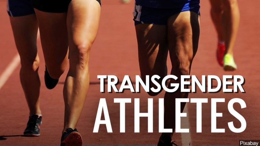 Transgender athletes logo