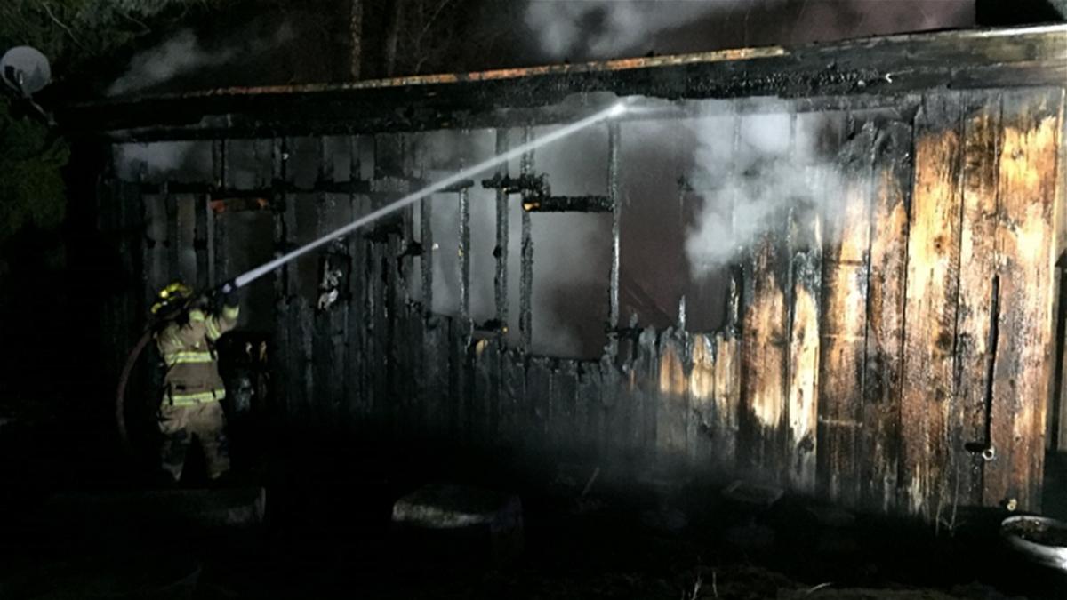 garage fire 1