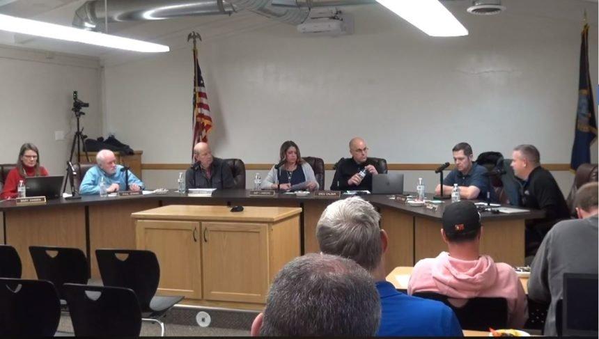 Bonneville School Board meeting