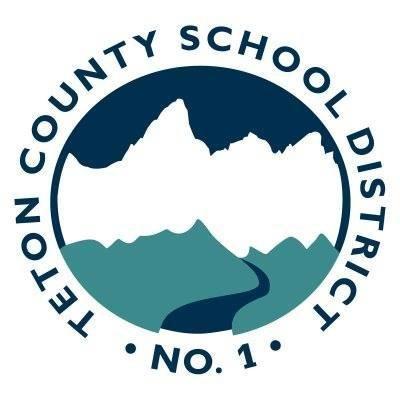 teton county school district #1 logo