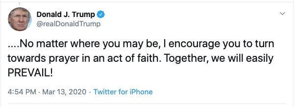 trump prayer 2