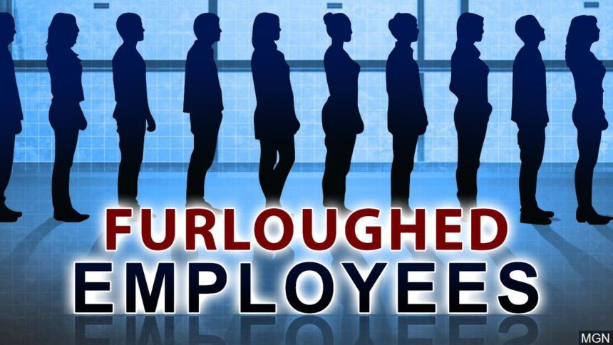 Furloughed employees logo