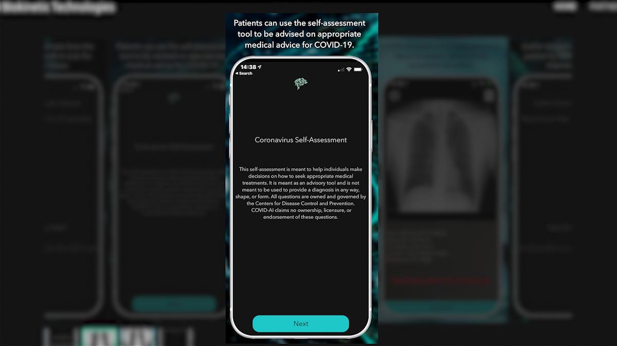 COVID AI 19 app