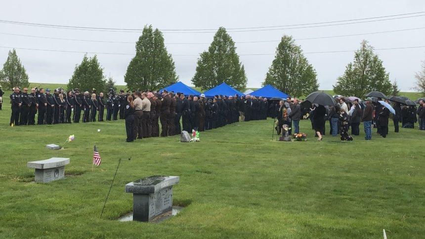 Deputy Wyatt Maser funeral wide