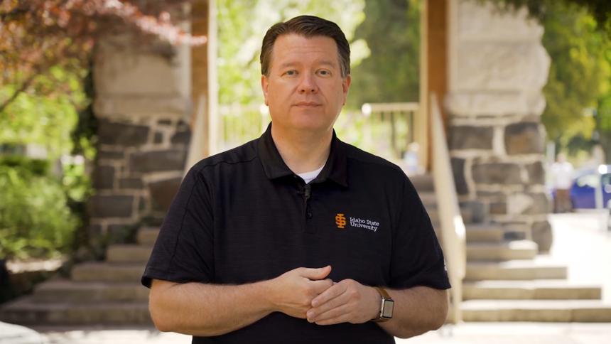 ISU president Kevin Satterlee