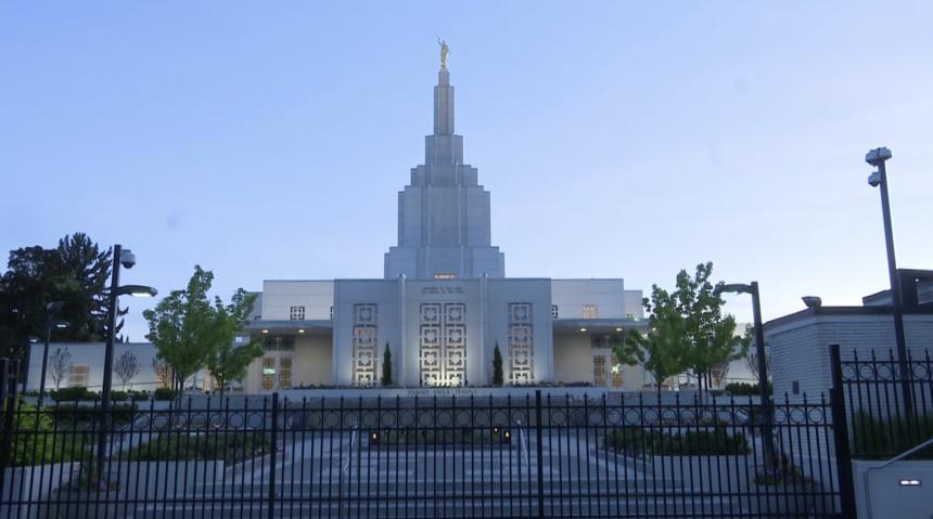 Idaho Falls Temple file photo