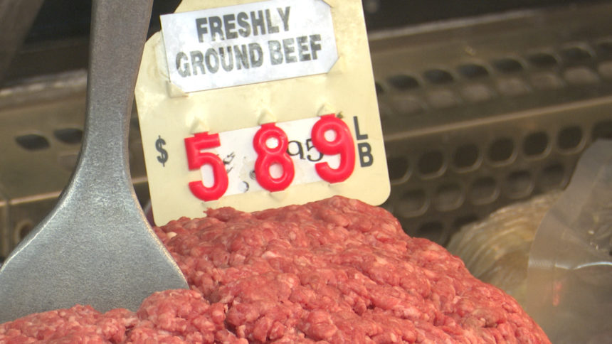 ground beef for $5.89