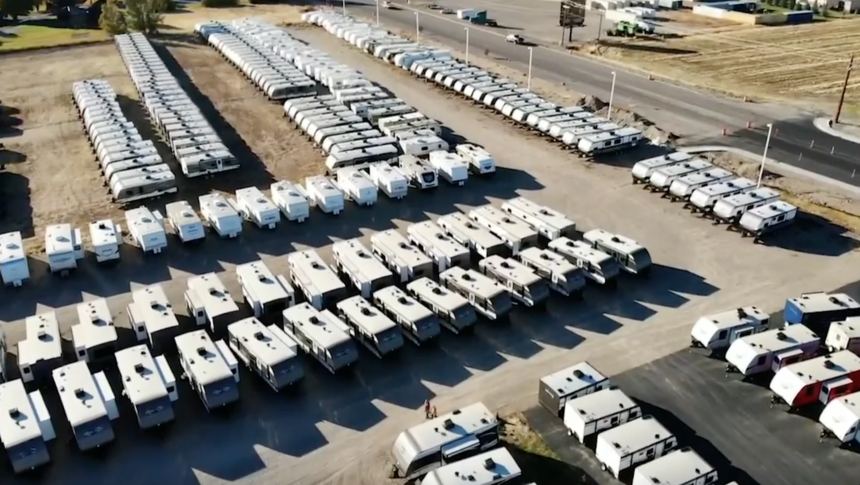 RV sales booming during COVID-19 pandemic