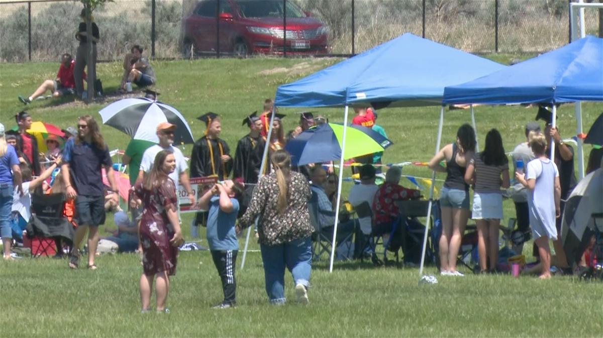 Unofficial graduation draws hundreds to Portneuf Wellness Complex