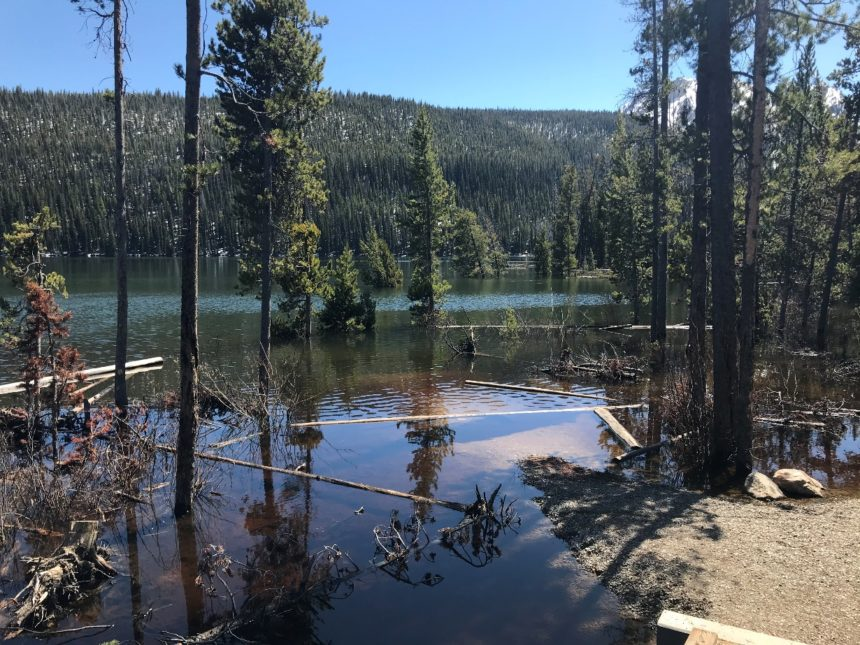 Stanley Lake Photo