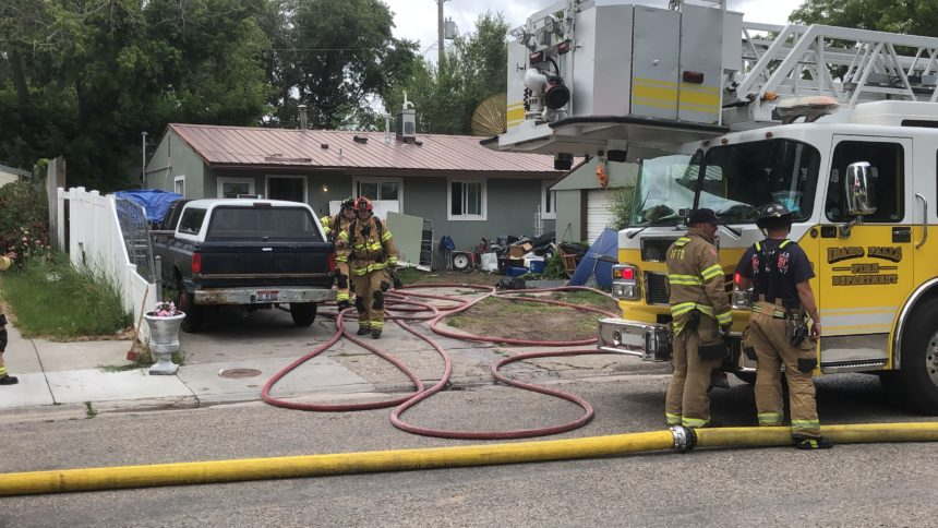 House fire at 1088 Kearney st.