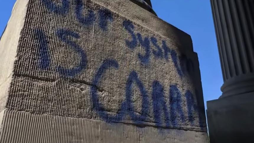 Idaho State Capitol Vandalism June 3_4