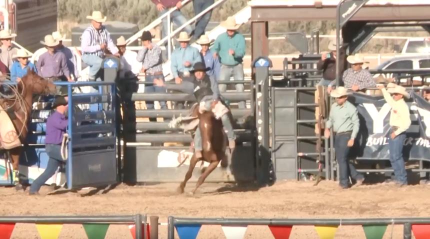 Bingham County ropes in Idaho High School Rodeo Championships