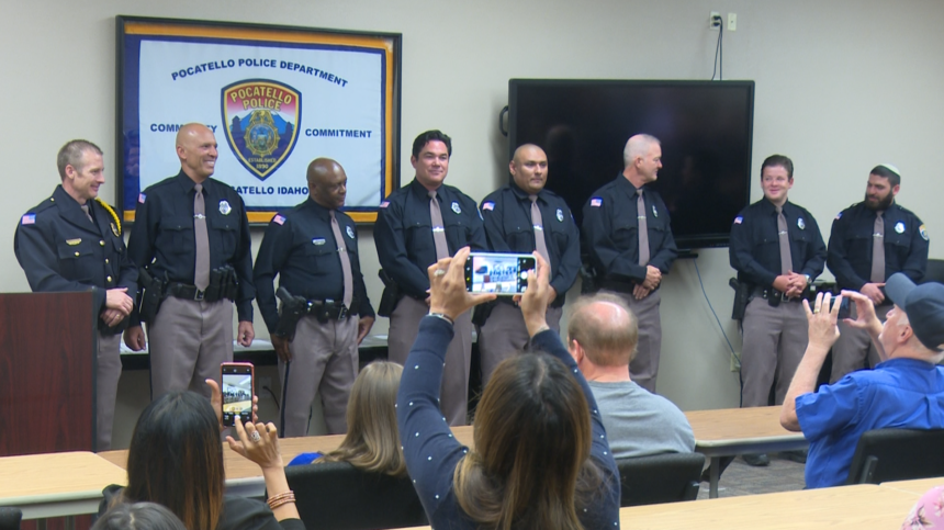 UFC Champ and Superman among five sworn in as Poky Reserve Officers