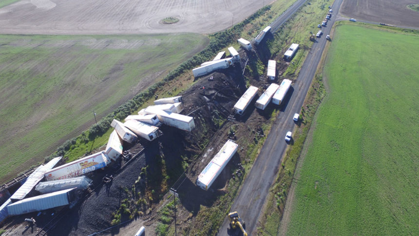 Train derailment Bryan Jorgensen