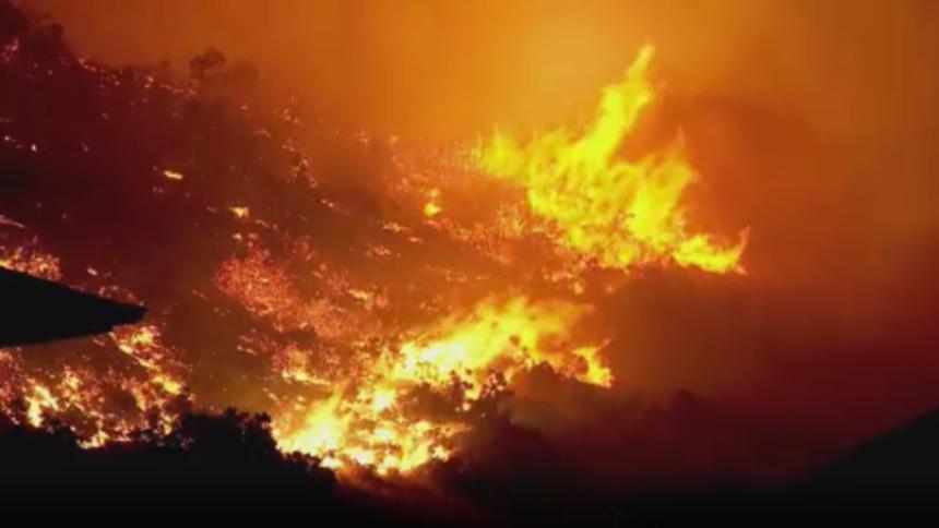 Utah wildfire destroys 1 home, evacuates 3,100 homes