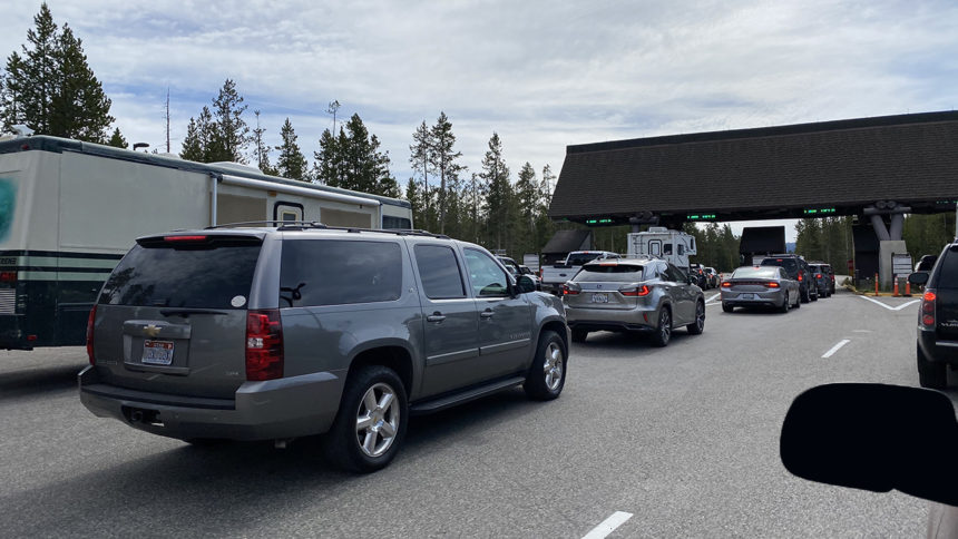 West Yellowstone West Entrance June 2020 by Natalie Nix