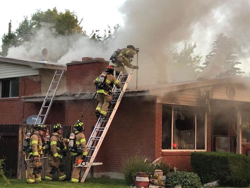 3 Alarm House Fire Idaho Falls