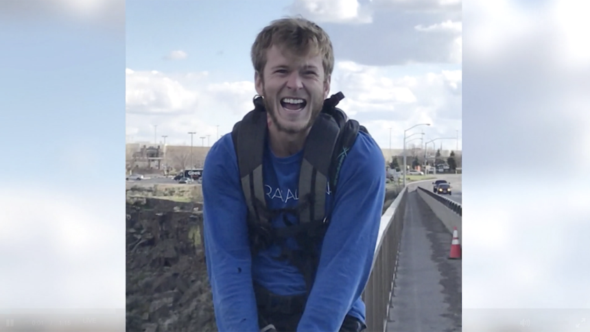 Austin Carey BASE jumper found