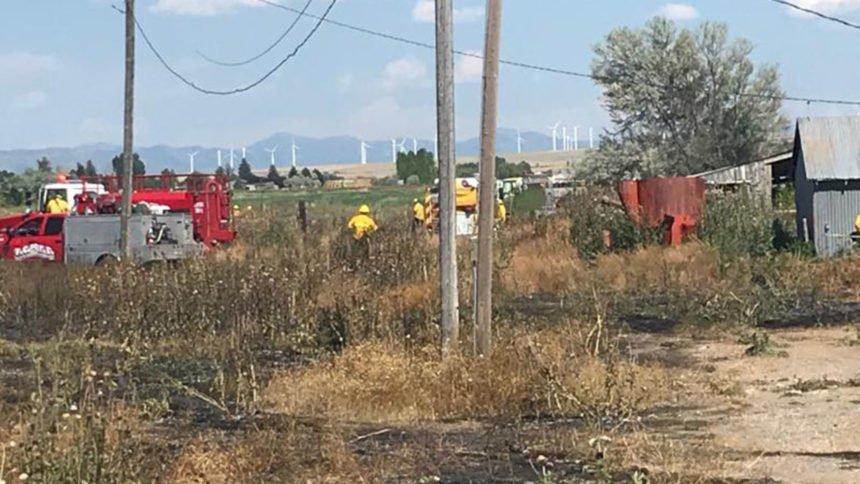 Bonn County Grass fire IFFD1