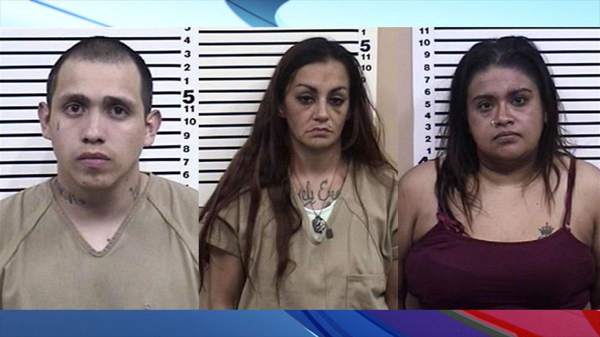 Jorge Balderas, Sasha Martinez and Laura Zamudio