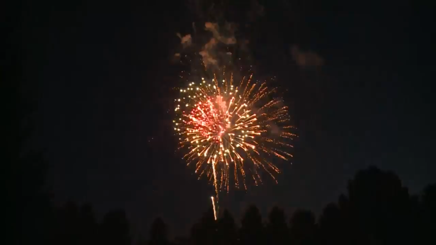 Light the Community fireworks Ammon 202015