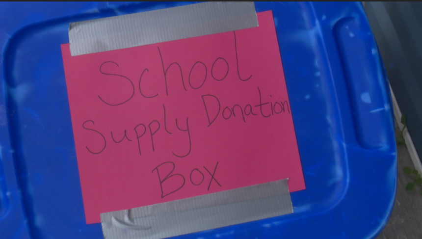Local family organizes back to school drive