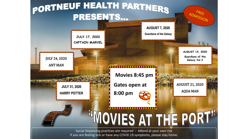 Movies at the port