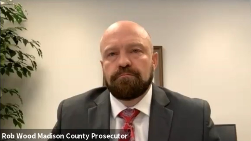 Rob Wood madison County Prosecutor July 17