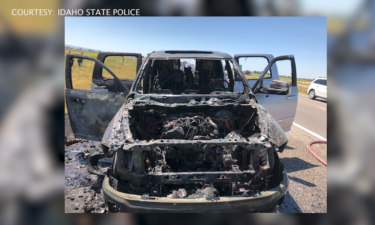 Vehicle Fire Aftermath