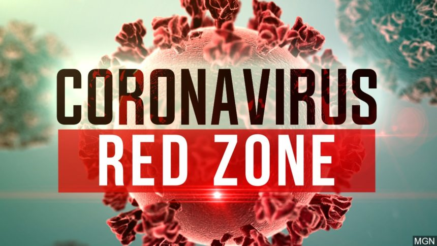 White House document shows 18 states in coronavirus red zone logo MGN Image
