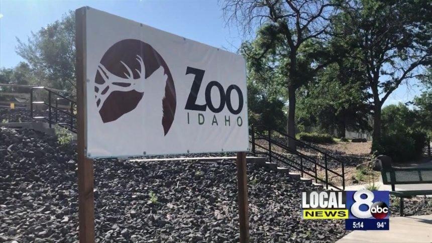Zoo Idaho image logo sign