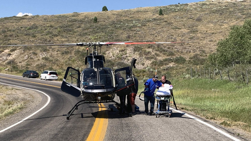 CCSO motorcycle accident