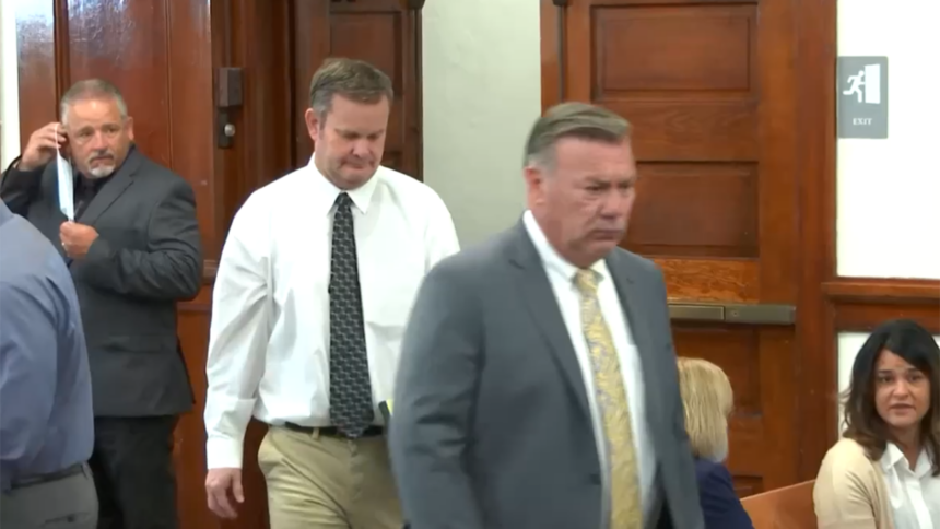Chad Daybell and John Prior enter courtroom day 2 hearing