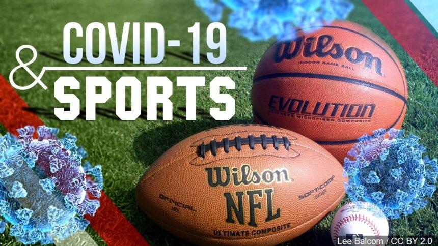 Covid-19 & Sports logo Lee Balcom : CC BY 2.0