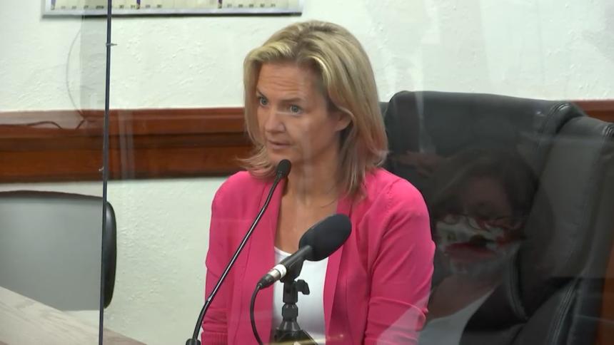 Melanie Gibb in court day 2