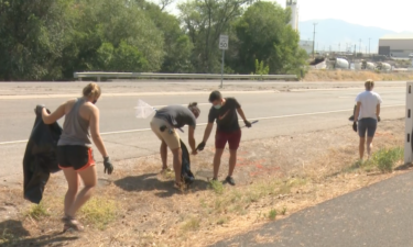 ISU students help in Portneuf River cleanup