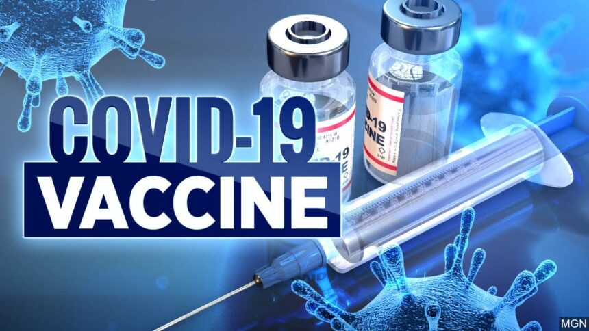 COVID-19 Vaccine logo image MGN Online_032912